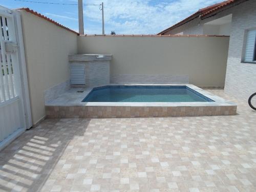 belíssima casa com piscina, no jardim são fernando, itanhaém