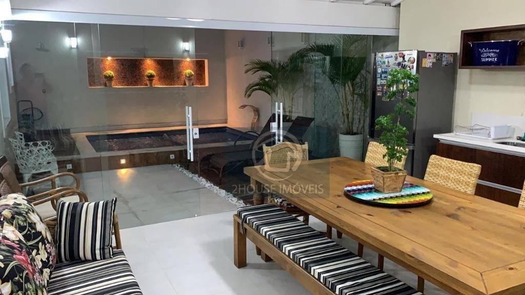 belíssima casa de condomínio, com 3 suítes, 3 vagas, 340 m², r$ 1.750.000 - horto florestal - são paulo/sp - ca3458