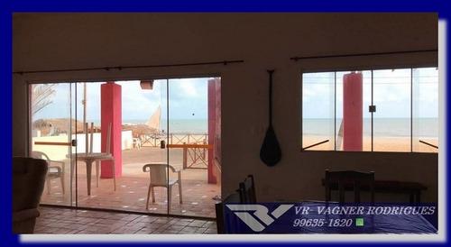 belíssima casa em touros  praia de carnaubinhas pé na areia