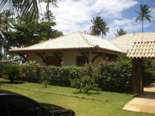 belissima casa frente mar com 4 suítes 450m2 em praia do forte - lit313 - 4495825