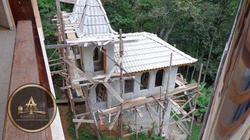 belíssima chácara em araçariguama - condomínio fechado - 05 minutos da castelo branco - confira! - ch0002