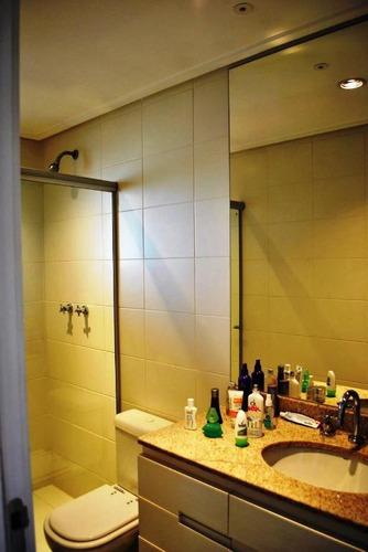 belíssima cobertura com 3 suítes à venda, 206 m² por r$ 1.985.000 - alto da boa vista - são paulo/sp - co1319