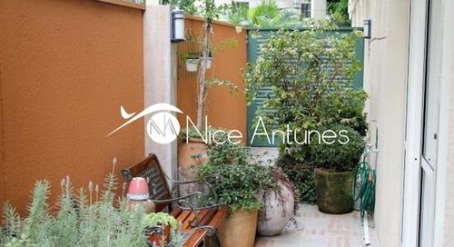 belíssima maison/garden, no melhor condomínio clube de santana, finíssimo acabamento. - na3472
