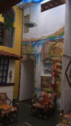 belíssima pousada no bairro novaro 500m do mar - ref 4168