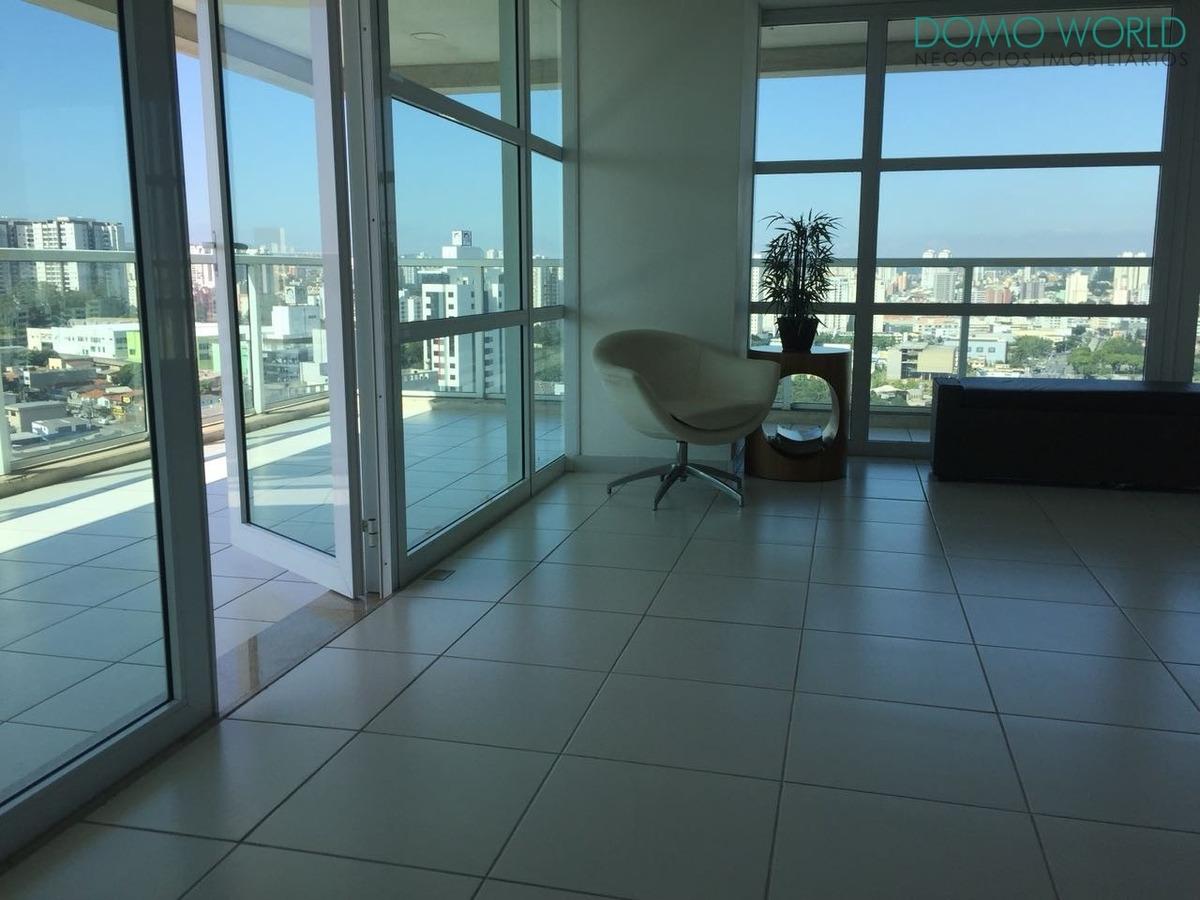 belíssima sala comercial - andar alto - sa01104 - 34072099