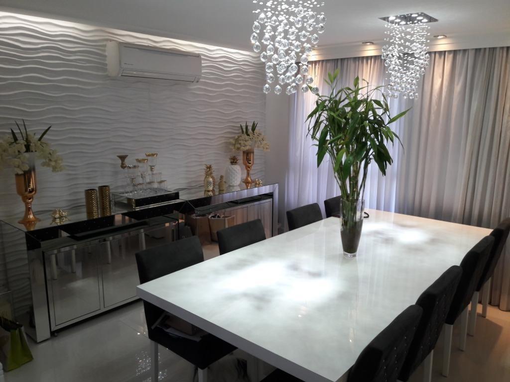 belíssimo apartamento de alto padrão com 3 suítes e 2 vagas na freguesia do ó - ap2861