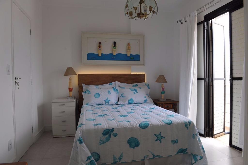 belíssimo apartamento reformado localizado na praia do tombo - ap1120