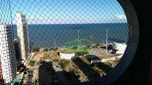 belíssimo flat com vista para o mar - ap1282