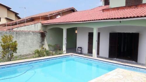 belíssimo sobrado com piscina, no cibratel 2, em itanhaém