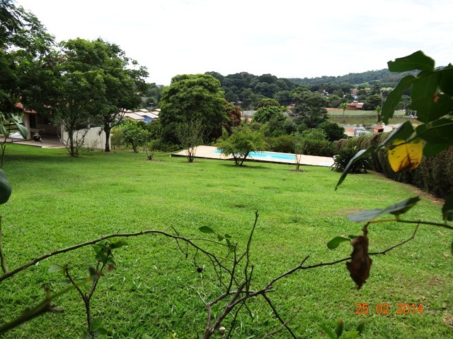 belíssimo terreno, 37 km de campinas, c piscina. cha0075