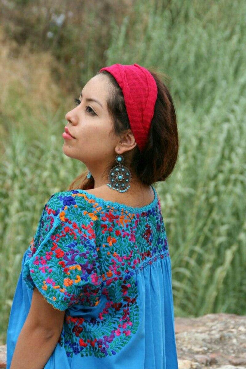 10b71a3513 belissimos vestidos mexicanos modelo san antonio. Carregando zoom.