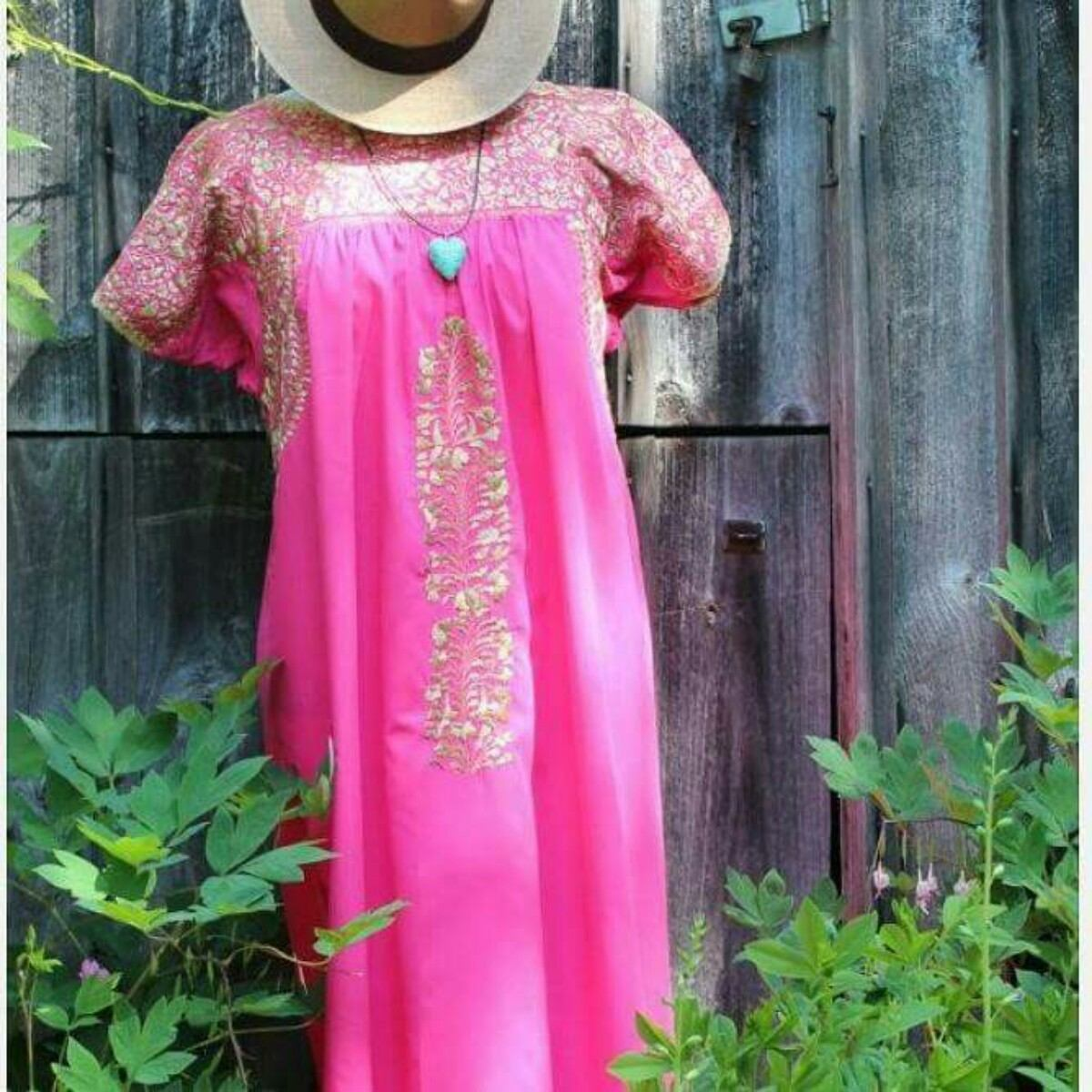 182cdb89a9 belíssimos vestidos mexicanos modelo san antonio. Carregando zoom.