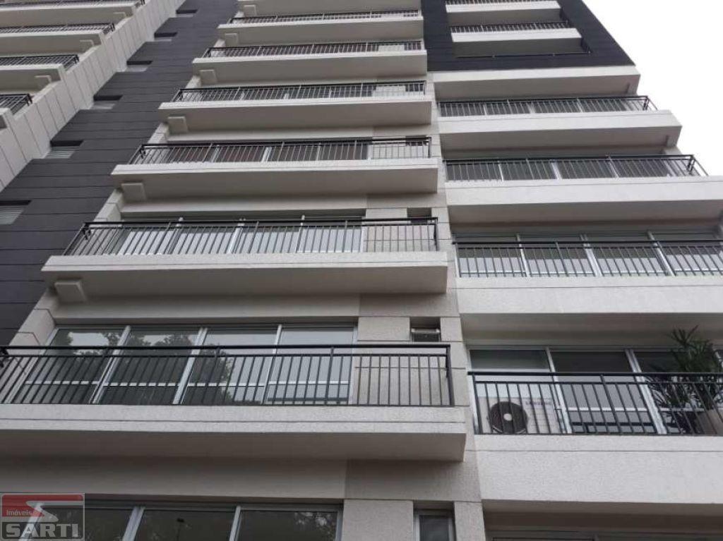 belissìmo apartamento studio com terraço, uma vaga coberta na garagem, piscina no terraço com vista. - st16542