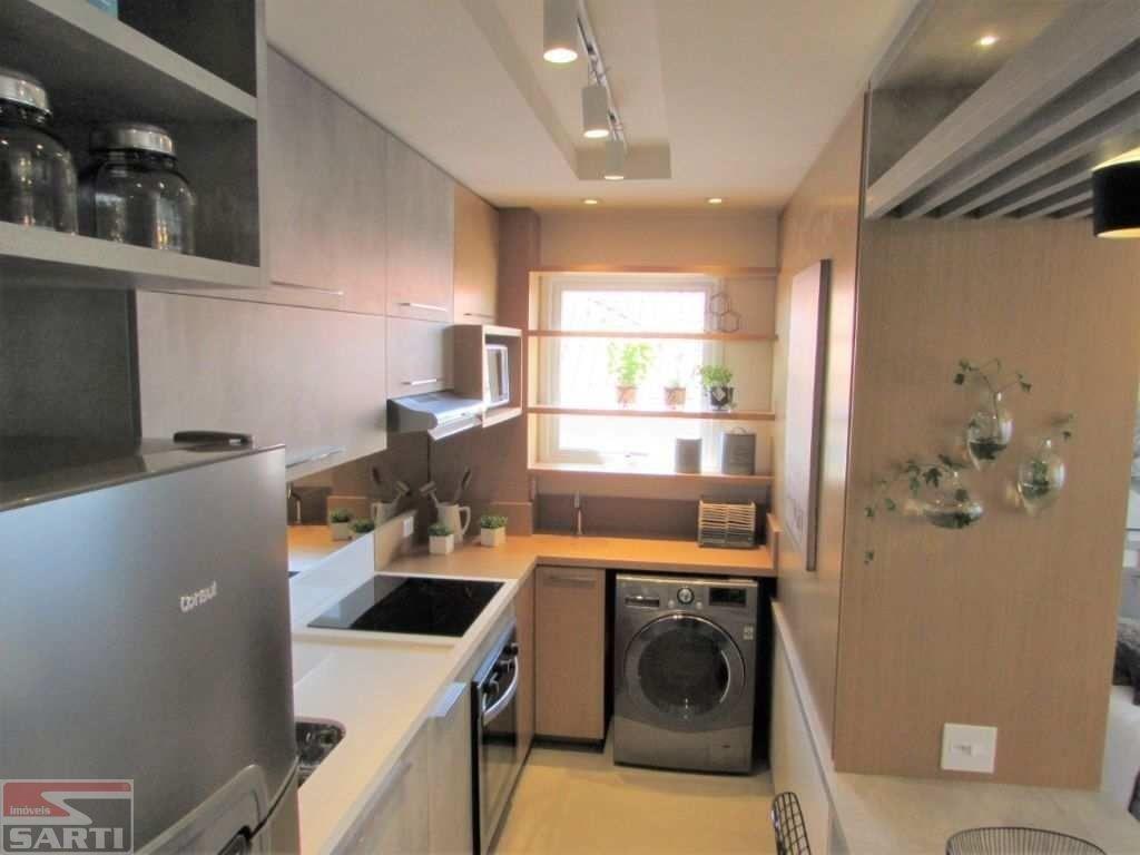 belissìmo apartamento studio com terraço, uma vaga coberta na garagem, piscina no terraço com vista. - st16547