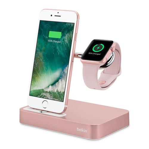 belkin cargador dock para teléfono/reloj inteligente apple