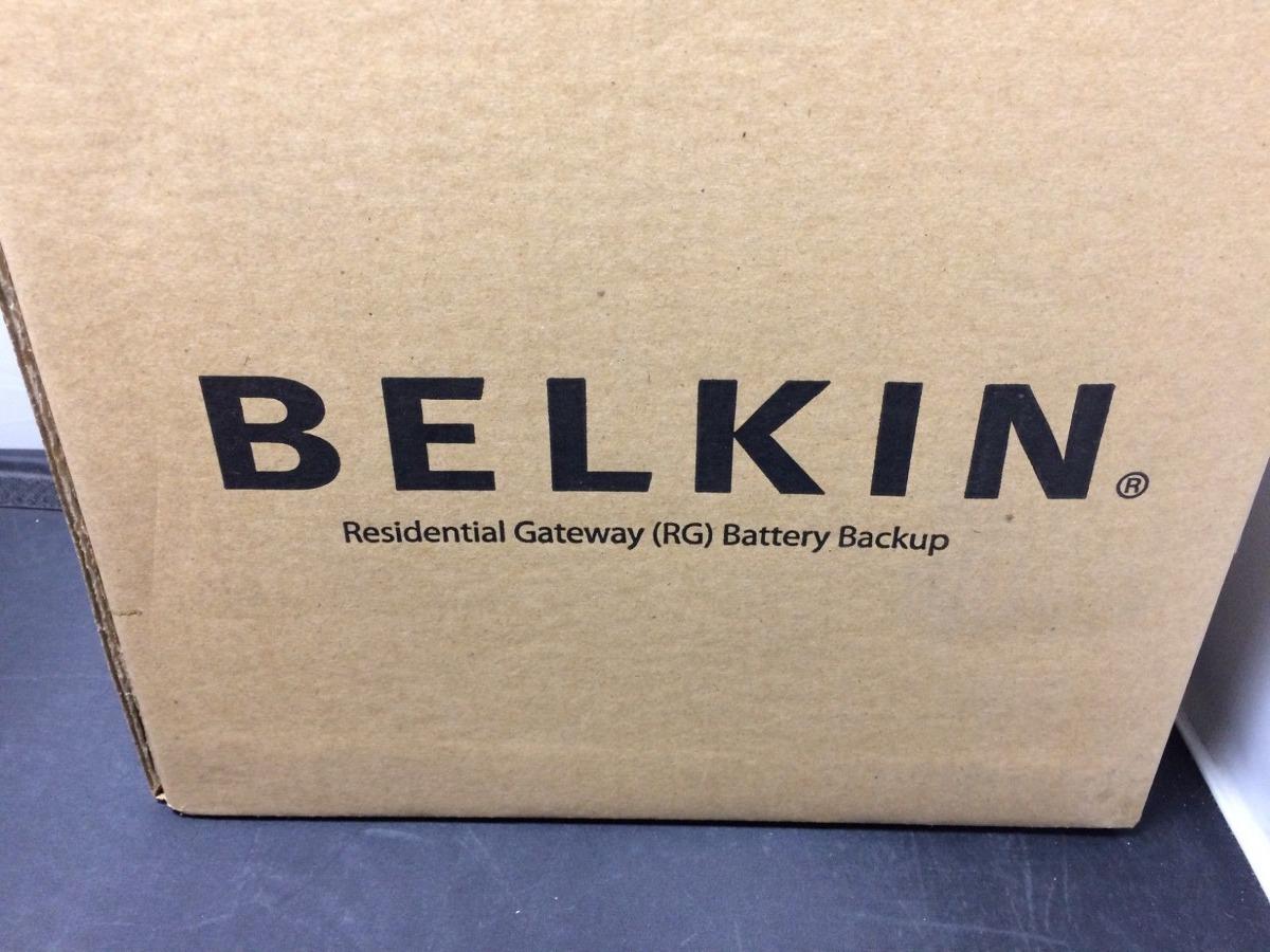 Belkin Residential Gateway RG Battery Backup Rev B 12V DC UPS BU3DC001-12V