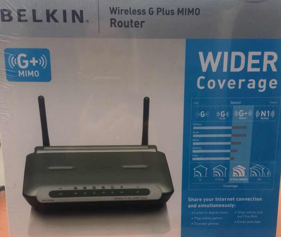 BELKIN G PLUS MIMO ROUTER DRIVER FOR PC