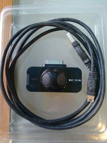 belkin tunetalk, un micrófono estéreo para ipod