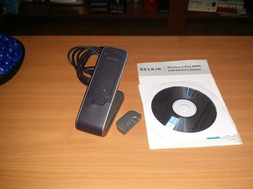 belkin wireless g+ plus mimo usb network adapter