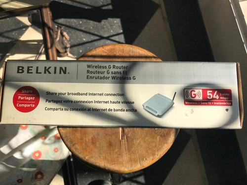 belkin wireless router