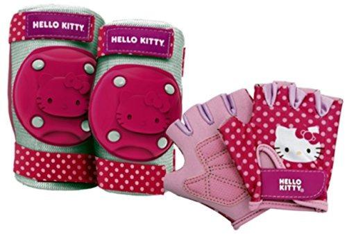 bell 7016781 pedal hello kitty y equipo de proteccion go