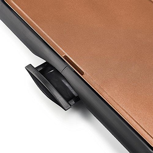 bella 105 x 20 pulgadas de cobre revestido de titanio planch