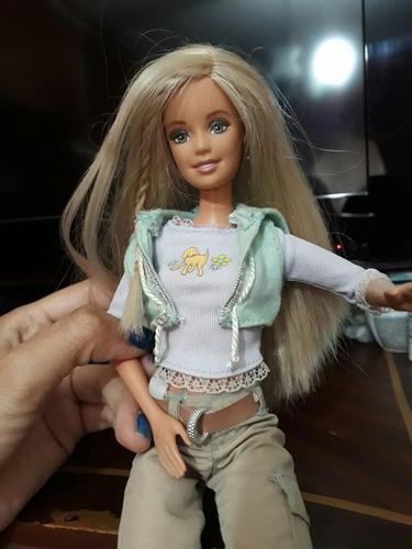 bella barbie como nueva original