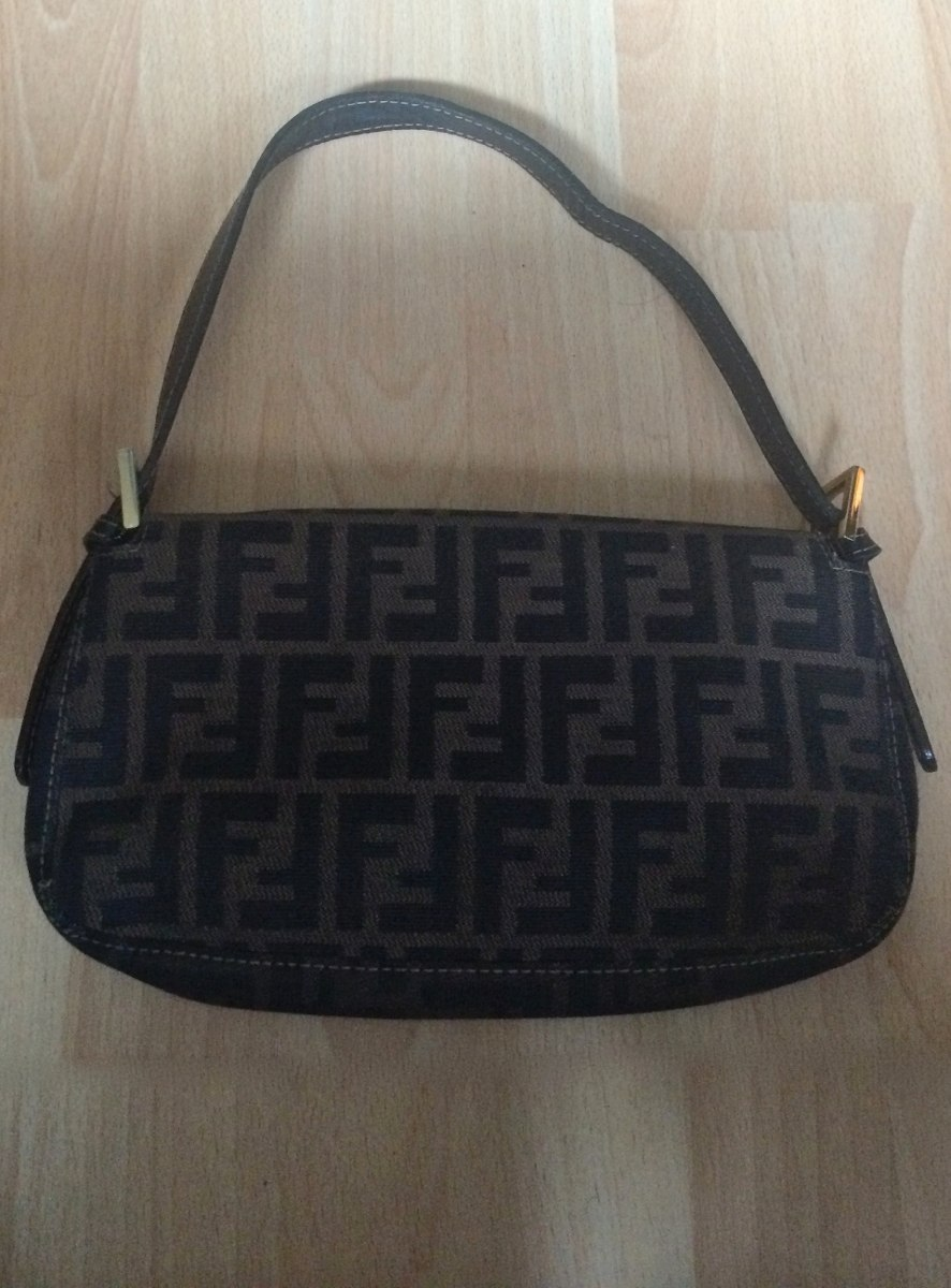 250cad577 bella bolsa fendi classic shoulder bag piel 100% original!! Cargando zoom.