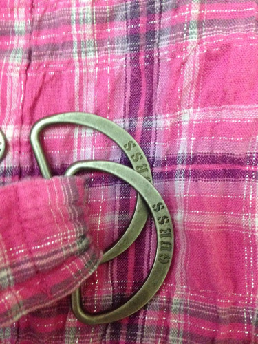 bella camisa guess original, talla 5/6. usada