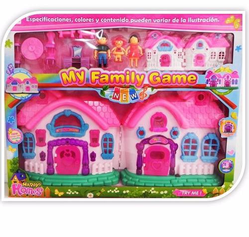 bella casa de juego y castillo de juegos con luces y sonidos