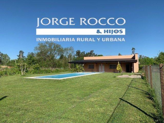 bella casa quinta en barrio el rodeo - gomez - brandsen