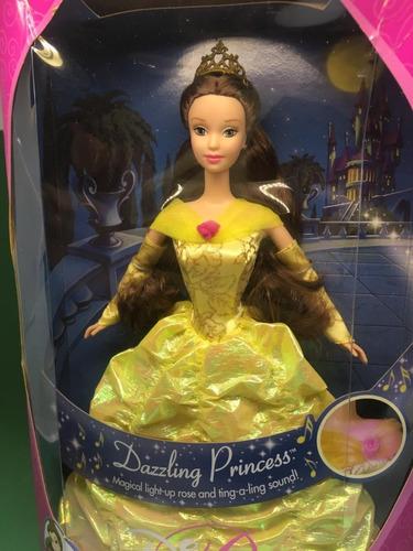 bella dazzling princess mattel 2000 disney belle fera