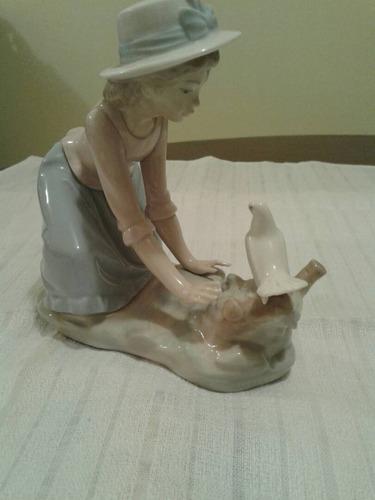 bella fijura de porcelana nao-lladro españa