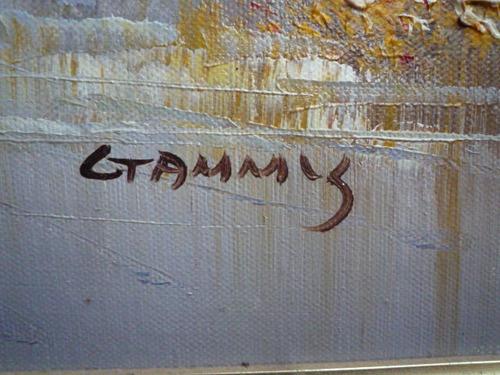 bella pintura en oleo de ctammy