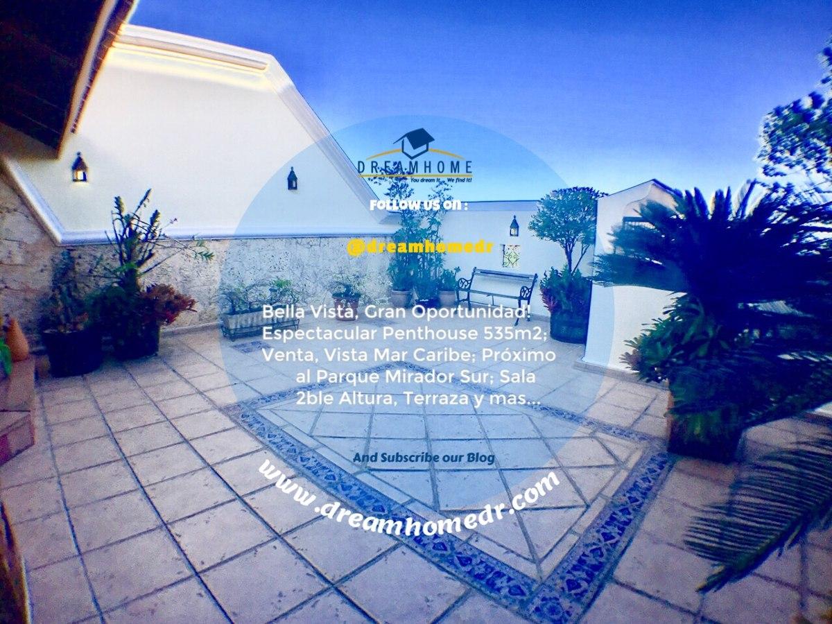bella vista, gran oportunidad penthouse venta. id 2301