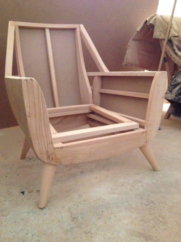 Bellas armasones de poltronas en madera para tapiceria - Tapiceria de sillas precios ...