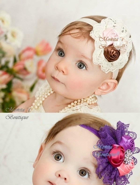 bellas banditas boton roses ballerinas tiaras lujo niña bebe