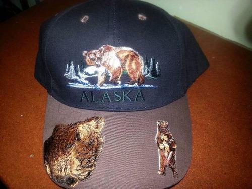 bellas gorras bordadas importadas de alaska