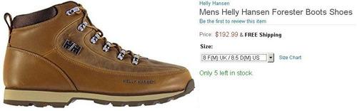 bellas helly hansen botas forester oferta mitad de precio