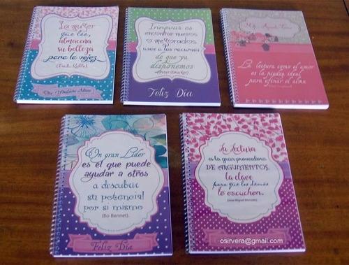bellas libretas de notas personalizadas