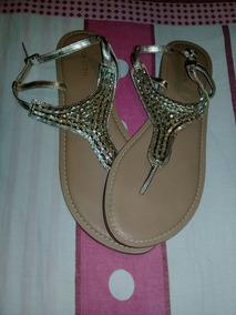 Zara Mujer Color En Zapatos Bellas Sandalias Dorado cALq354RjS