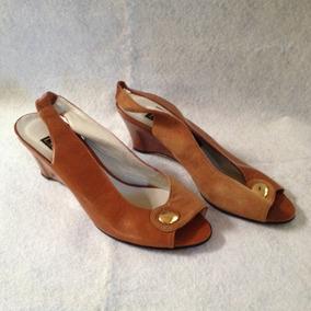 Mujer Marrones Sandalias En Zapatos Bellos Tacon Bajo XikZPuOT