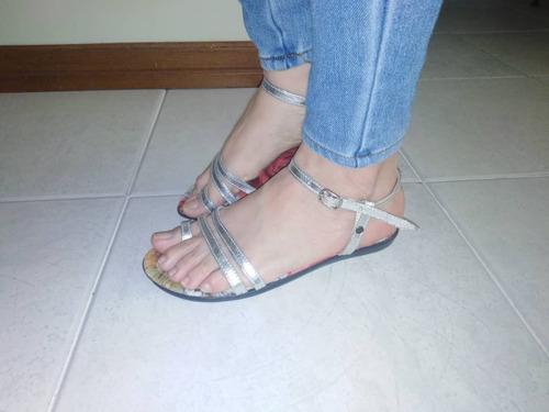 bellas sandalias para niñas damas bajitas casuales