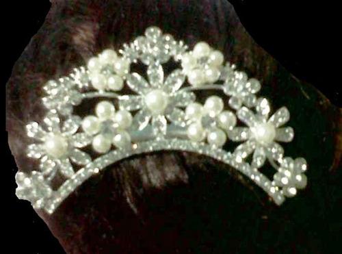 bellas tiaras de novias de brillante pedreria checa estilos