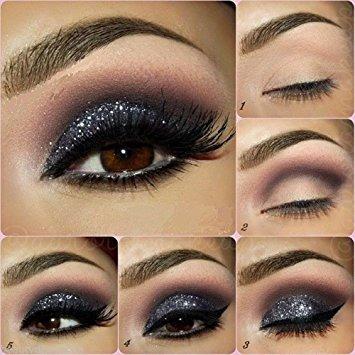 belleza sombra ojos