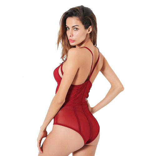 belleziva mujeres sexy mama suave elasticidad de la malla ba