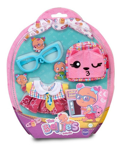 bellies kit ropa de escuela accesorios 15318 bebes edu edu