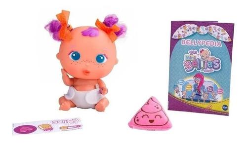 bellies mini bebe muñeco 13 cm apreta sorpresa b14789 edu