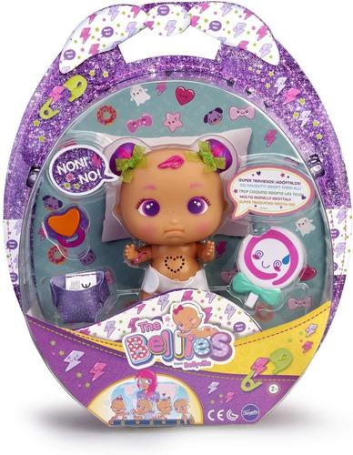 bellies muñeco interactivo 19cm luz original bebe  educando