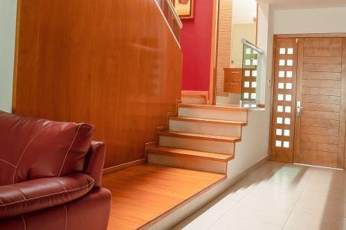 bellísima casa amueblada en privada en venta/renta,fraccionamiento milenio , querétaro